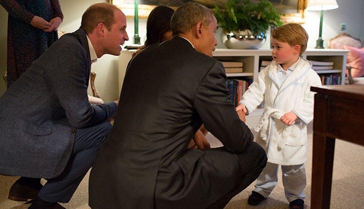 Prince George President Obama