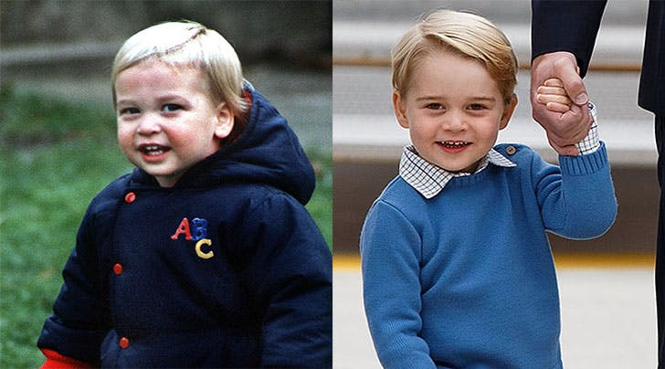 Prince George Prince William look alike