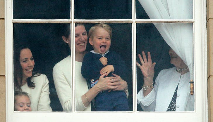 Prince George Window faces