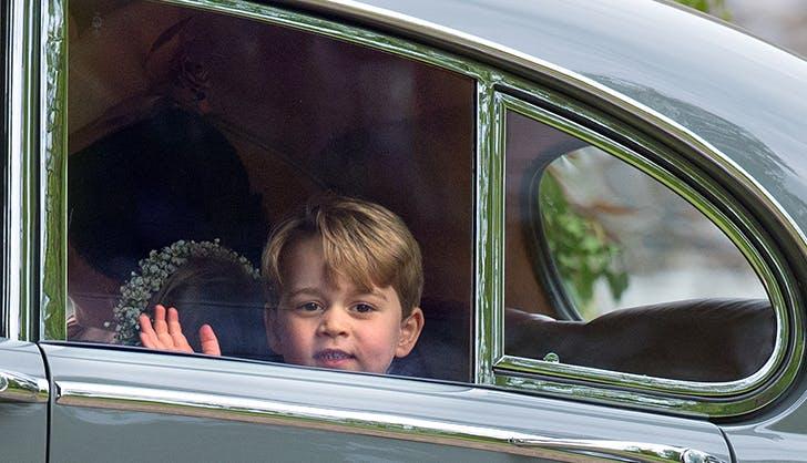 Prince George car wave