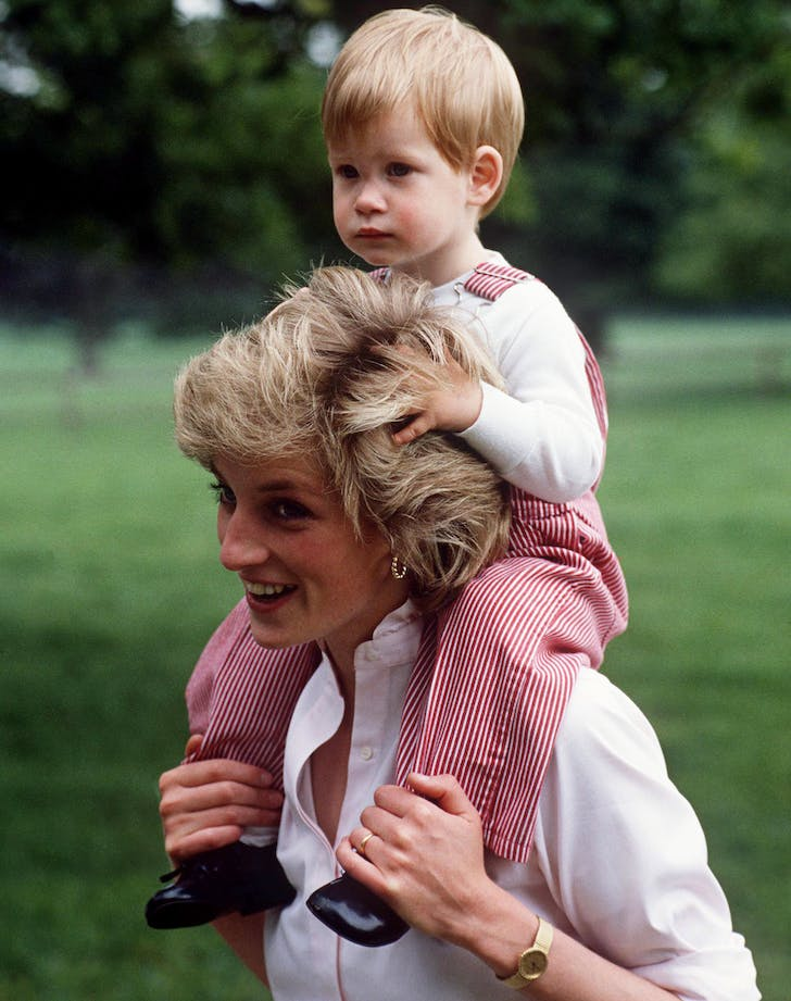 Prince Harry Princess Diana hug HBO documentary