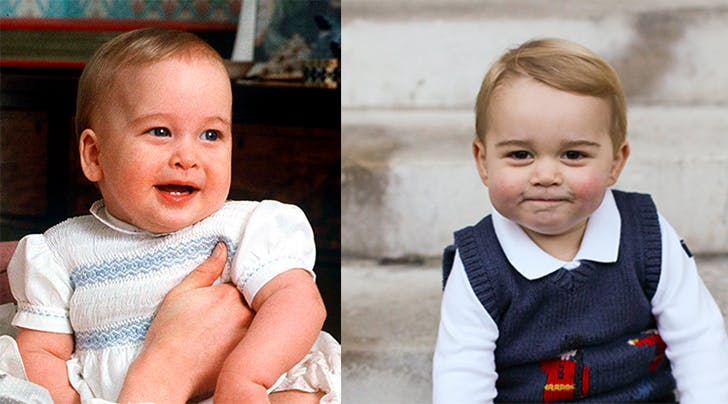 Prince William Prince George Baby Look Alikes