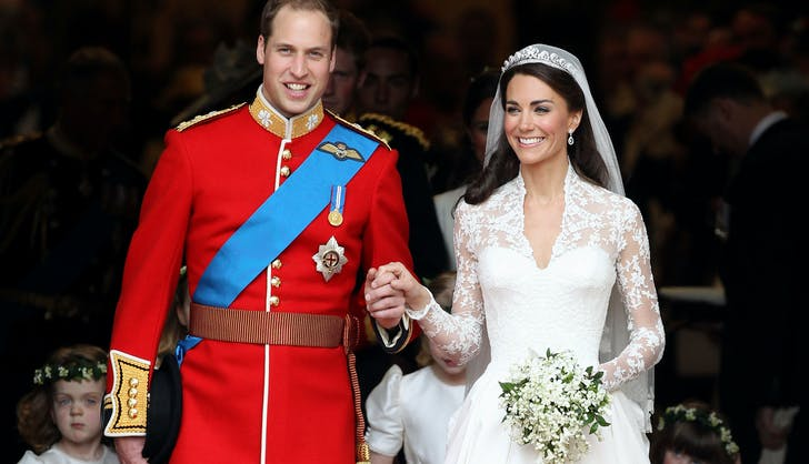 Prince William and Kate Wedding Day