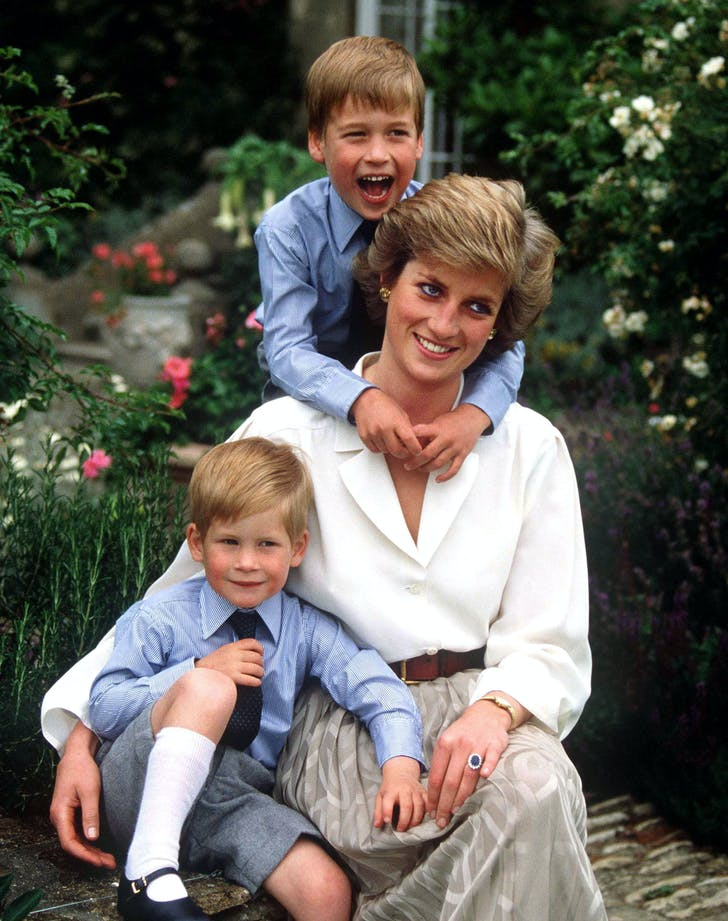 Princess Diana Prince William Prince Harry HBO documentary