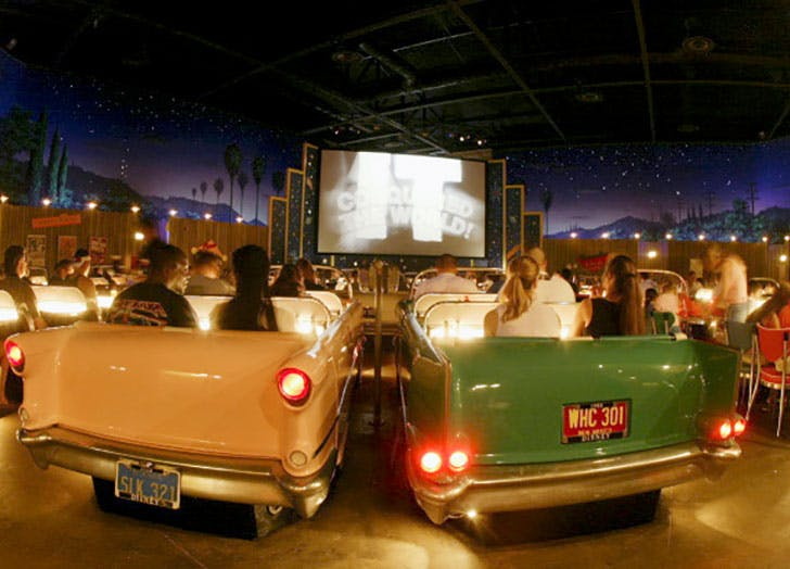 Sci Fi Dine In Theater Disney World Restaurant