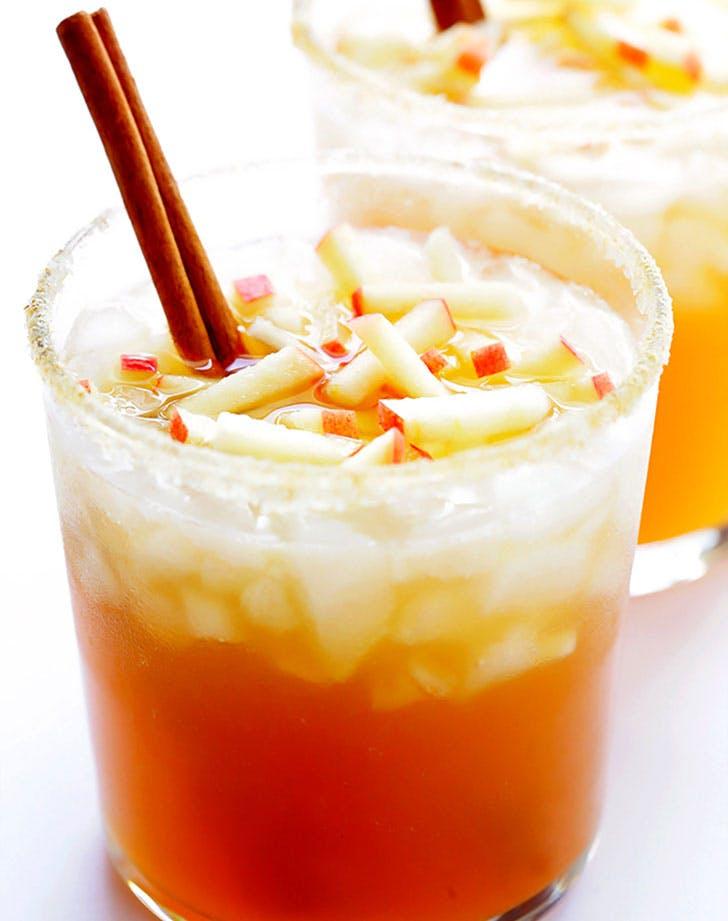 Smoky Mezcal Apple Cider Margarita Recipe
