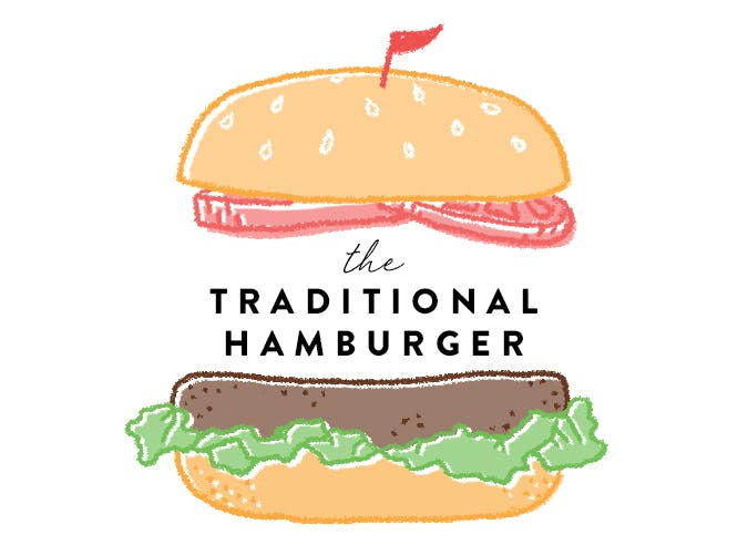 Traditional Hamburger