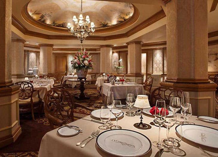 Victoria Albert best restaurant at Disney World