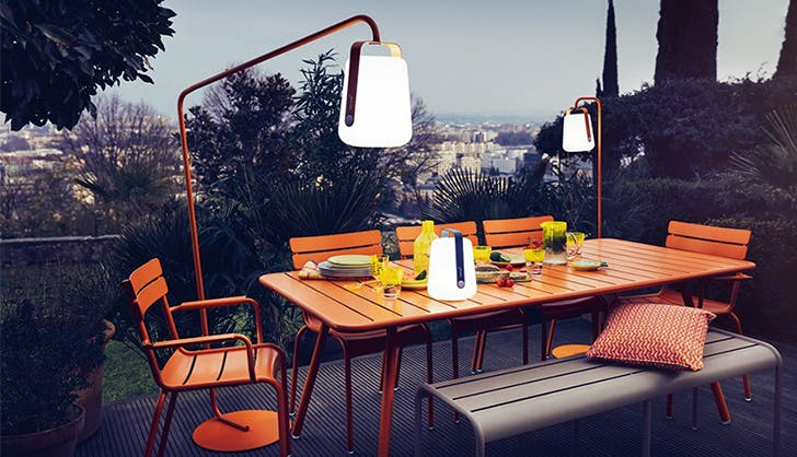 add lamps la outdoor space upgrades