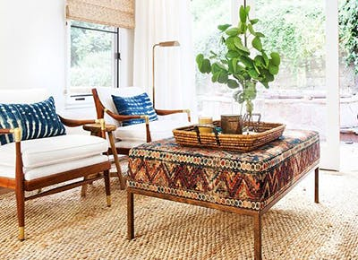 8 Chic Ways To Sneak Extra Seating Into Your Living Room