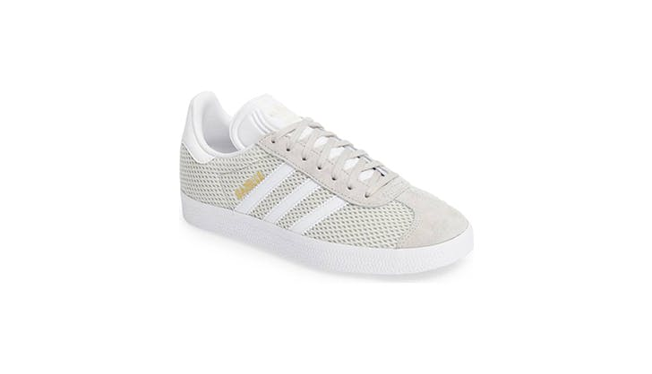 adidas gazelle white sneakers use