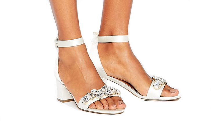 asos comfortable bridal shoes new