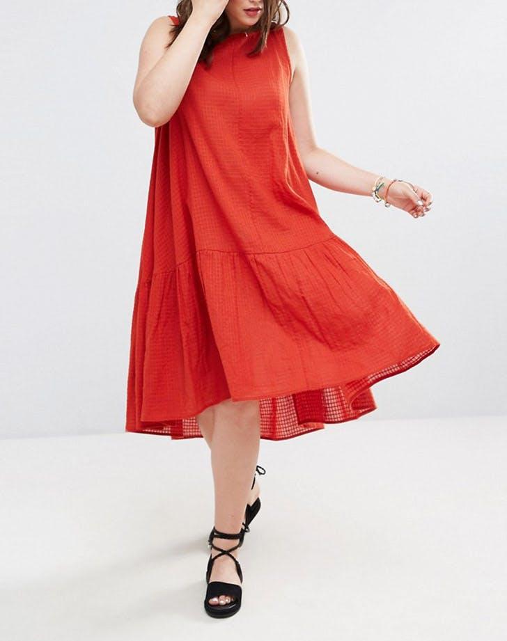 asos curve swing dress NY