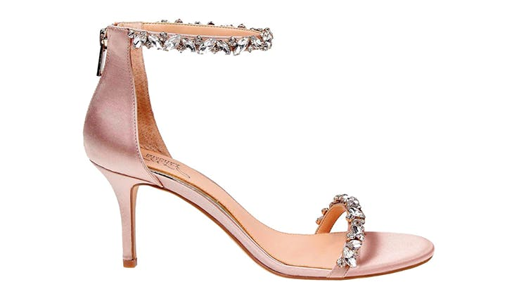 badgley mischka comfortable bridal shoes