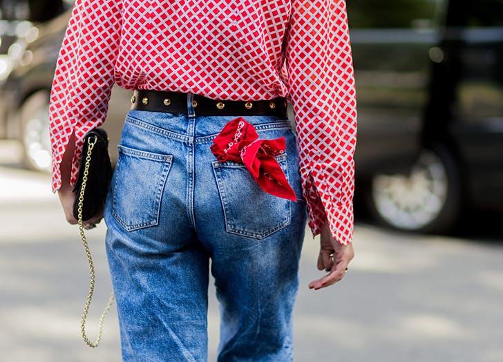 bandana pocket