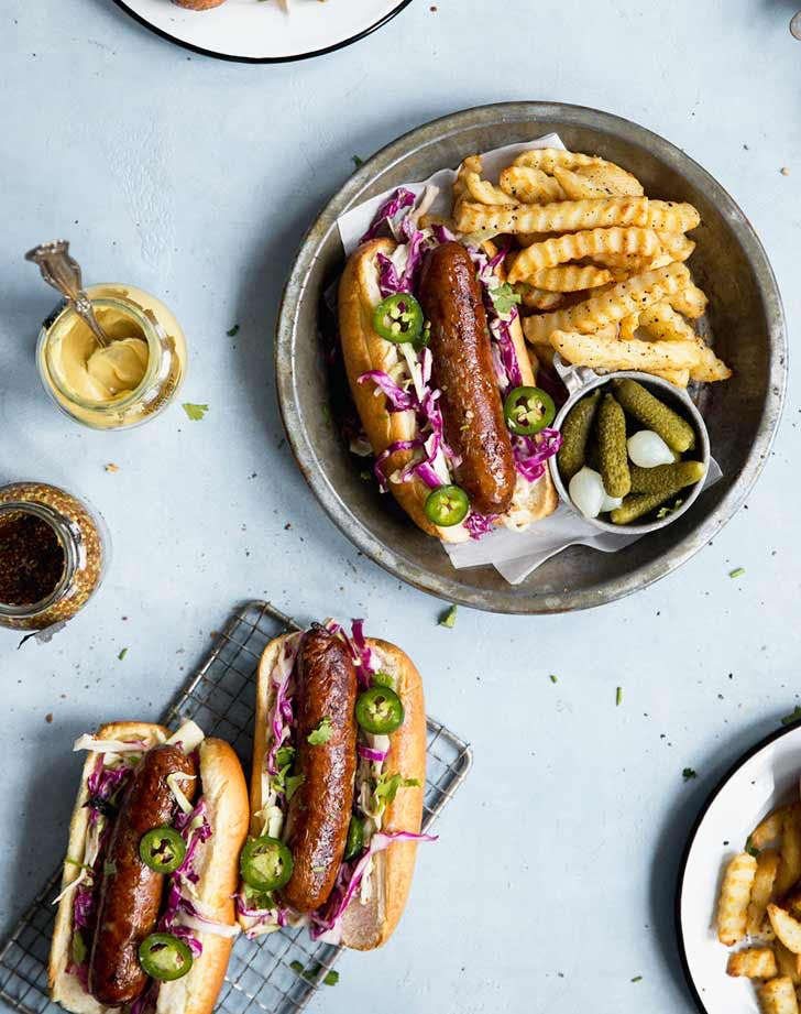 beer brats with dijon slaw 921