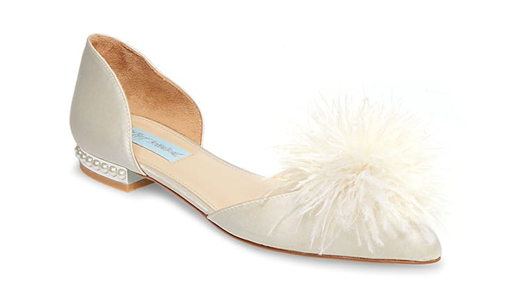betsey johnson comfortable bridal shoes