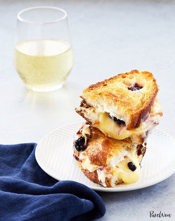 blackberry peach grilled cheese 921