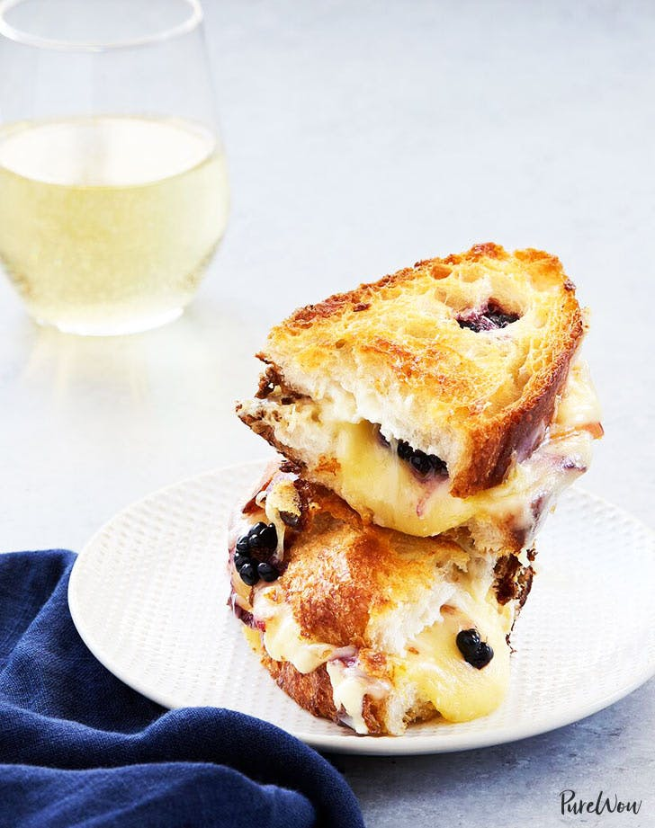 blackberry peach grilled cheese recipe 921