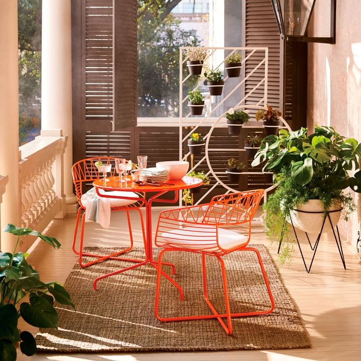 bright chairs la outdoor space upgrades