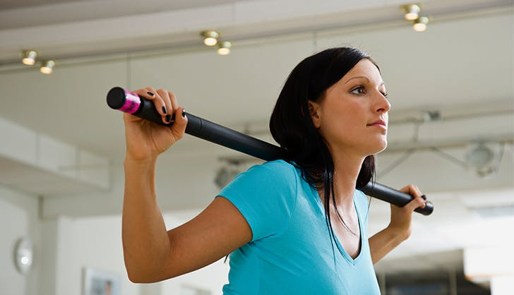 broomstick twists exercises to skip