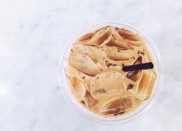 coffee tipping iced