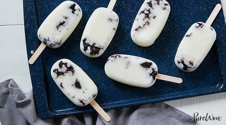 Cookies-and-Cream Ice Pops