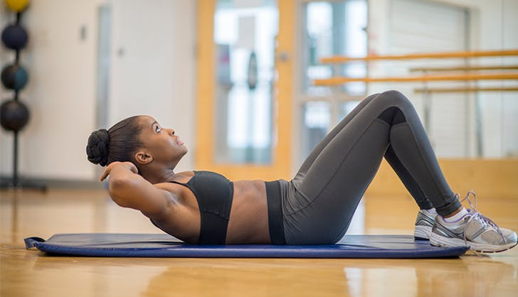 crunches exercises to skip