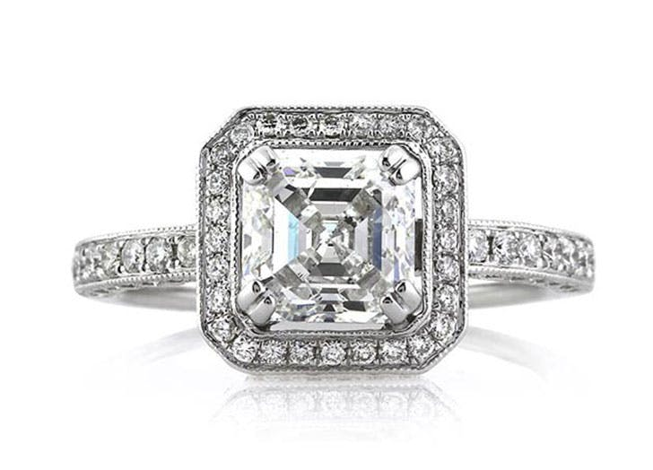 diamond cuts asscher