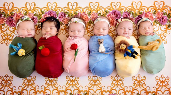 You Havent Really Seen Disney Princesses Until Youve Seen *Newborn* Disney Princesses
