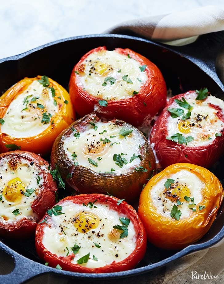eggs baked in tomatoes 921