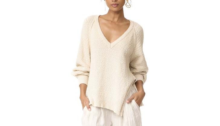 free people cashmere sweater pic use