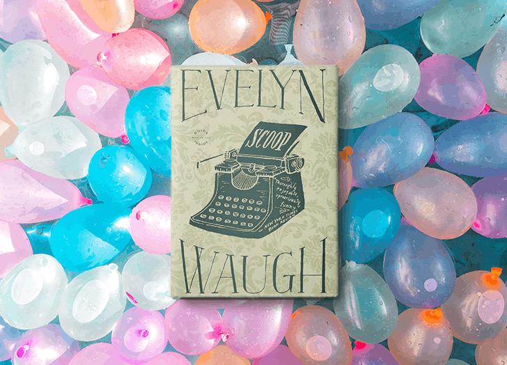 funny books waugh