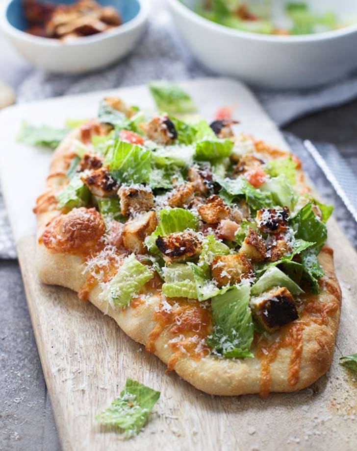grilled blackened chicken caesar salad pizzas 921