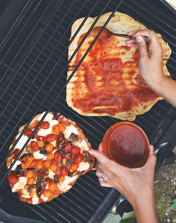 grilled caprese pizza 921