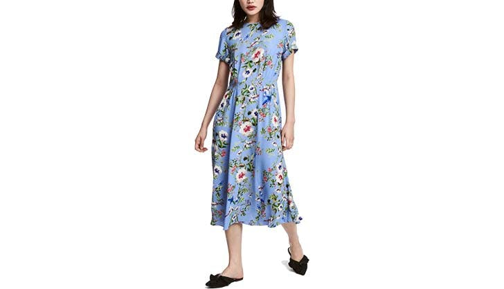 hm patterned dress for dall