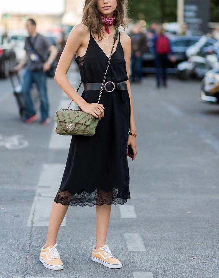 how to wear a slip dress maximalist