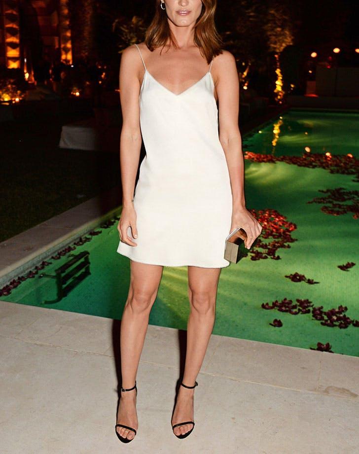 how to wear a slip dress minimalist