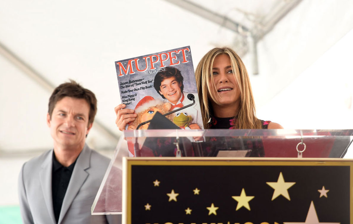 Jason Bateman receives star on Walk of Fame