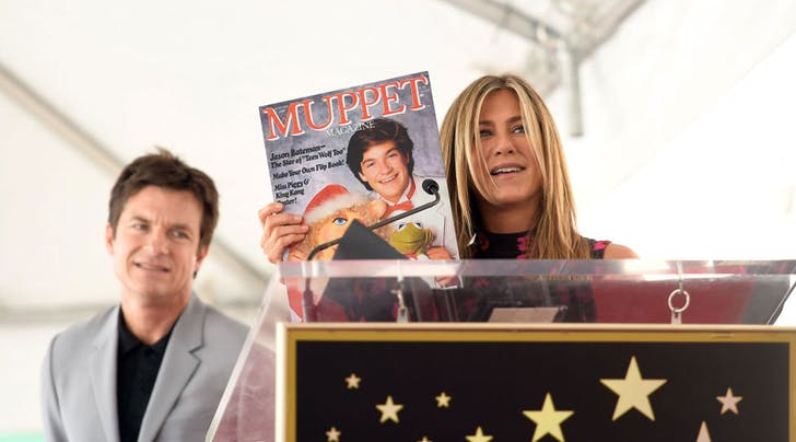 Jennifer Aniston Embarrassed the Hell Out of Jason Bateman at His Walk of Fame Ceremony