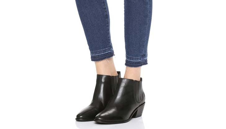 joie black booties use
