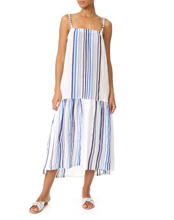 lemlem striped dress NY