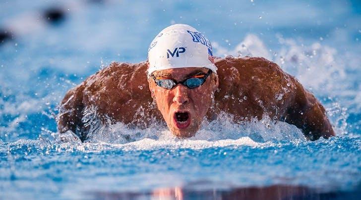 Michael Phelps Raced a Shark, Because: Shark Week!
