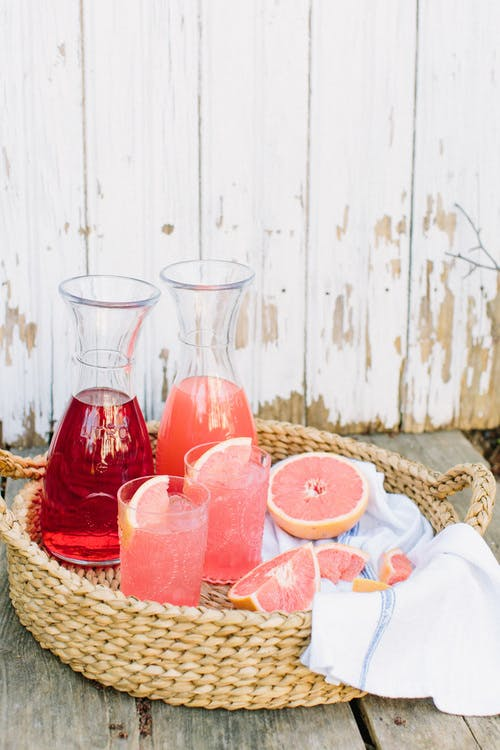 multiple beverage stations garden party ideas