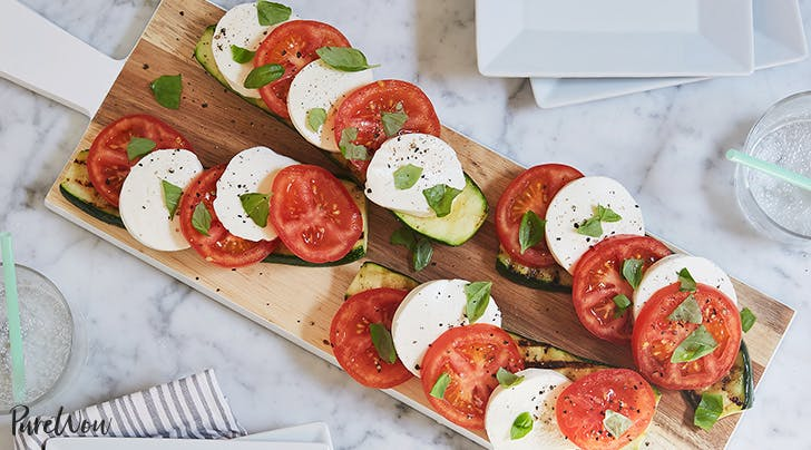 Introducing the New Caprese Salad