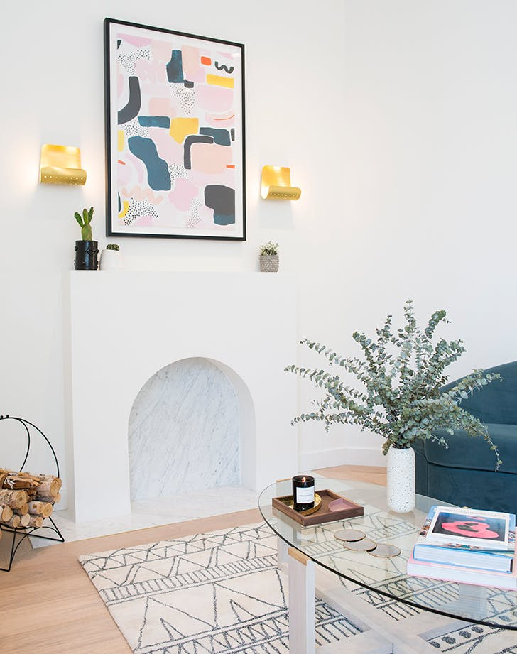 How to Make the Most of a Nonfunctional Fireplace