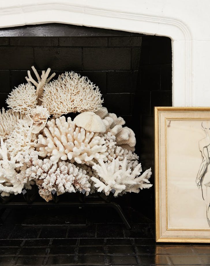 nonworking fireplace idea 8