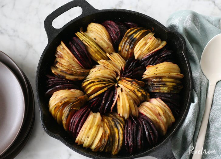oven roasted beets and potatoes