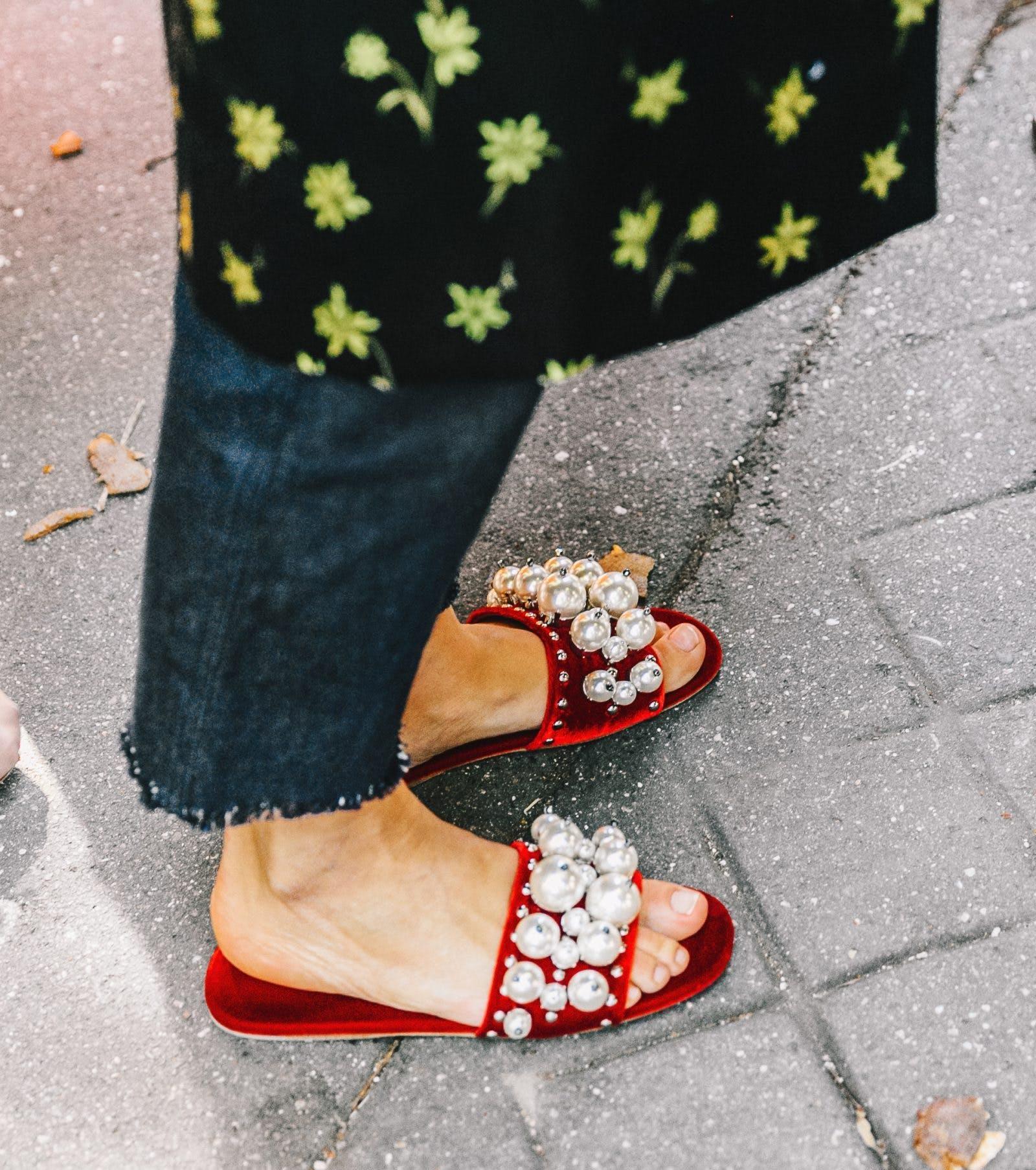 pearl flats maximalist shoe trends