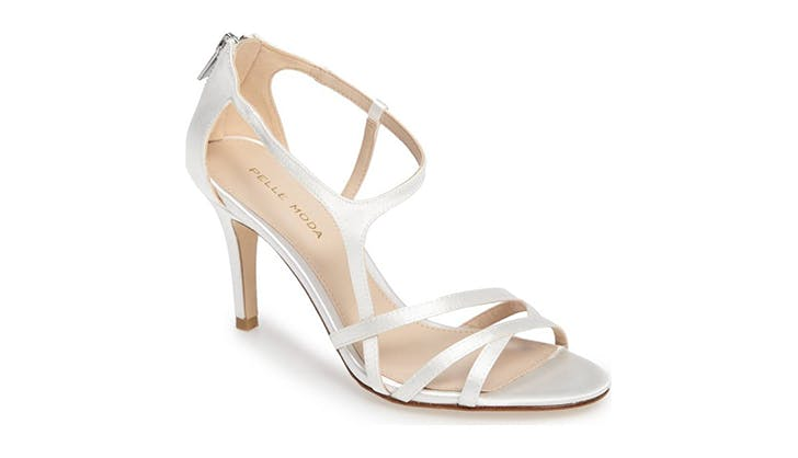 pelle moda comfortable bridal shoes